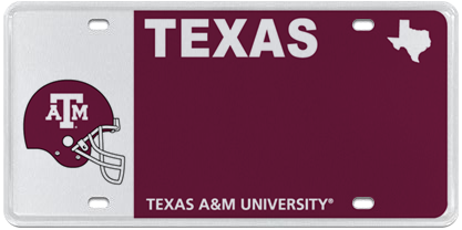 Texas A&M University - Helmet