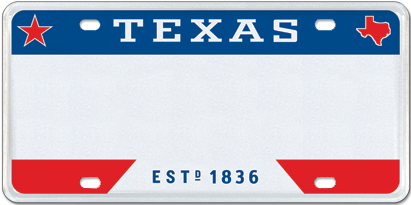 T For Texas - Red/White/Blue