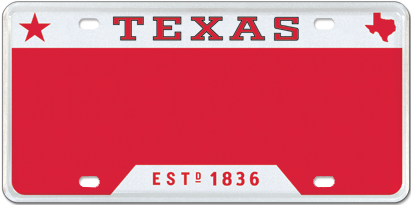 T for Texas - Red