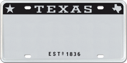 T for Texas - Silver