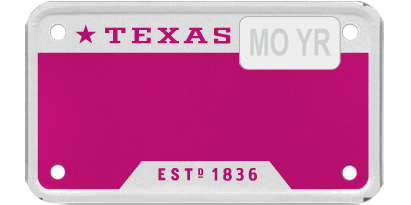 T for Texas - Pink