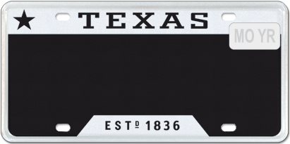 T for Texas - Black