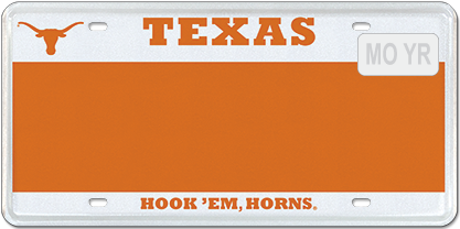 T for Texas - Longhorns